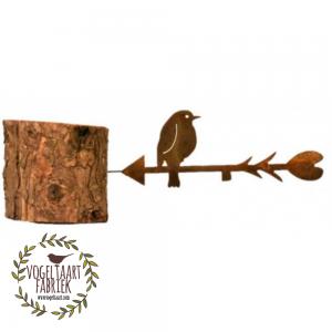 birdfeeder cortenstaal